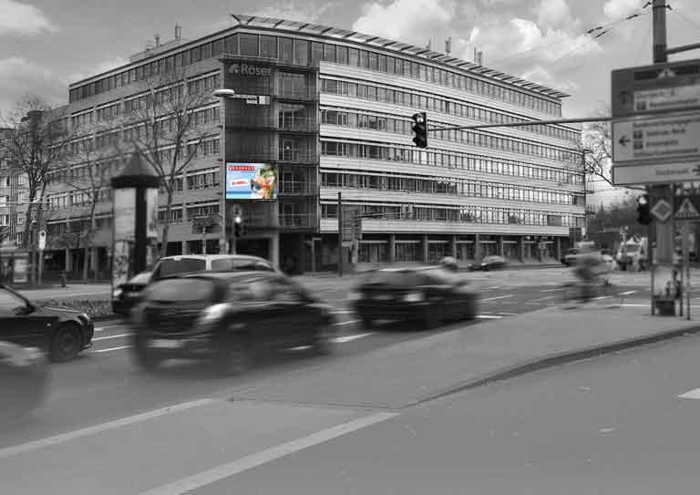 Außenwerbung in Karlsruhe